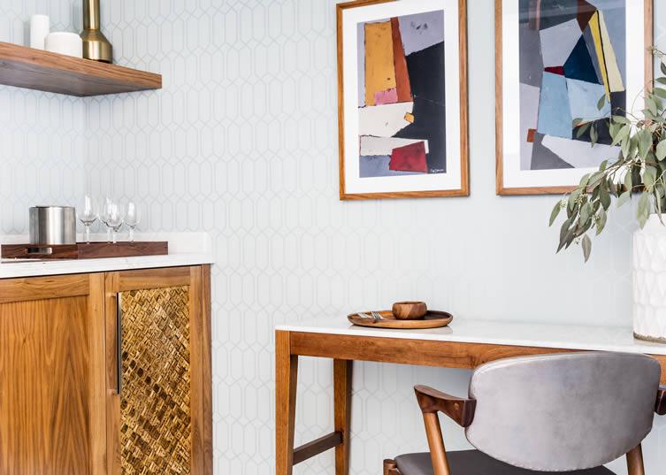 Midcentury + Modern - Get the Look Courtesy of The Laurel Inn, SF
