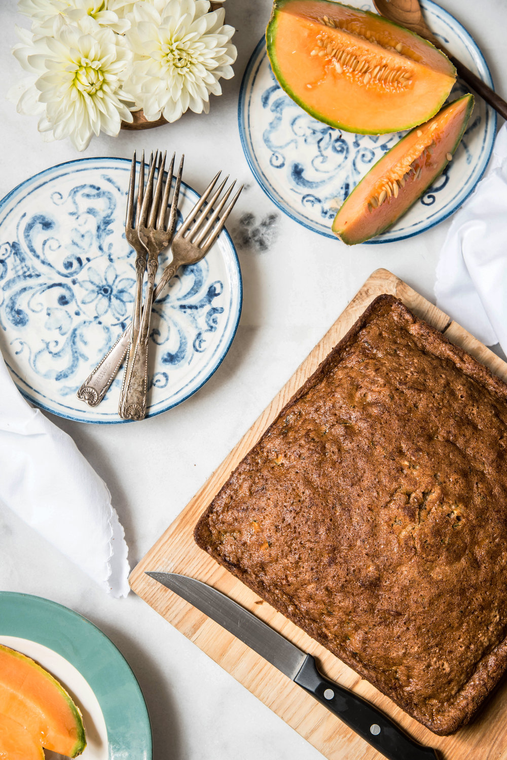 ROSE & IVY Journal At the Market | Zucchini & Zucchini Ginger Bread