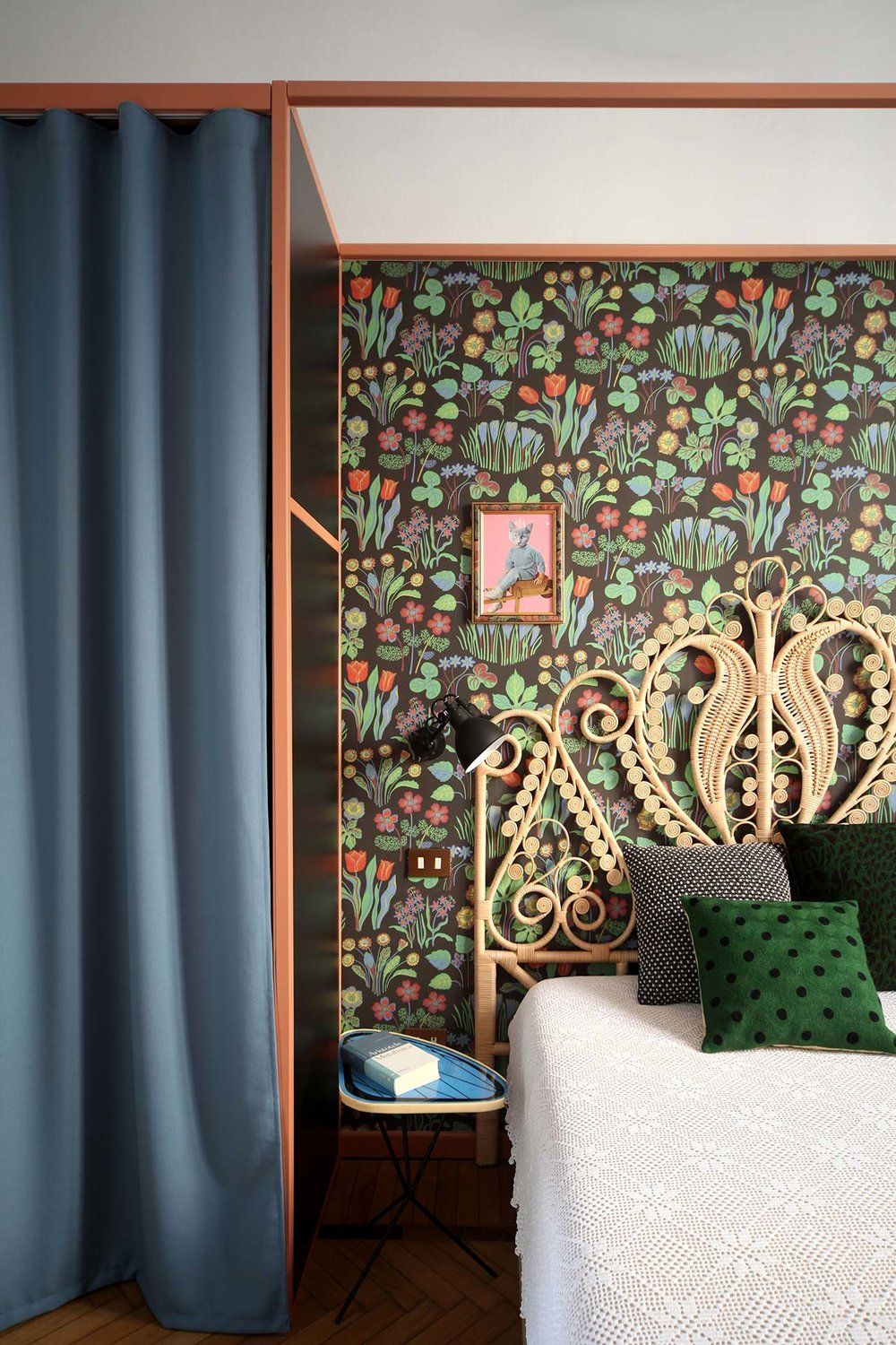 A Case forColor & Pattern - An Inspiring Interior in Milan