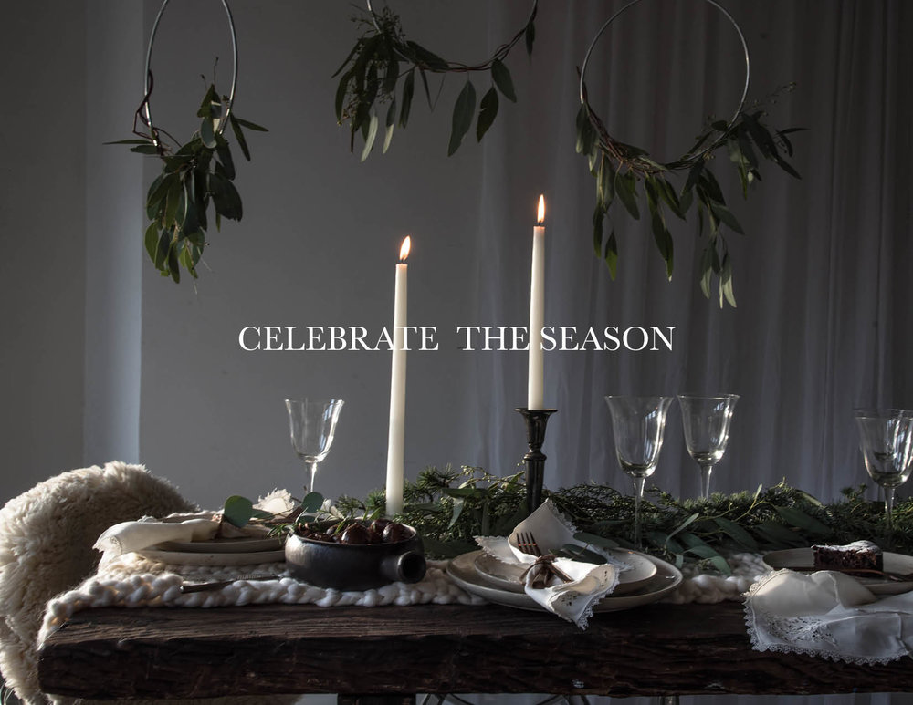 ROSE & IVY Journal Celebrating the Season Holiday Ideas and Gift Guide