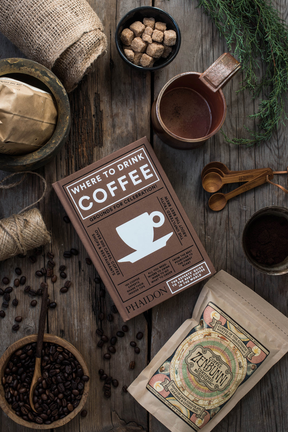 ROSE & IVY Journal The Gift Guide for the Caffeine Lover Where to Drink Coffee Phaidon, Mondays Mug, Zenbunni Biodynamic Coffee