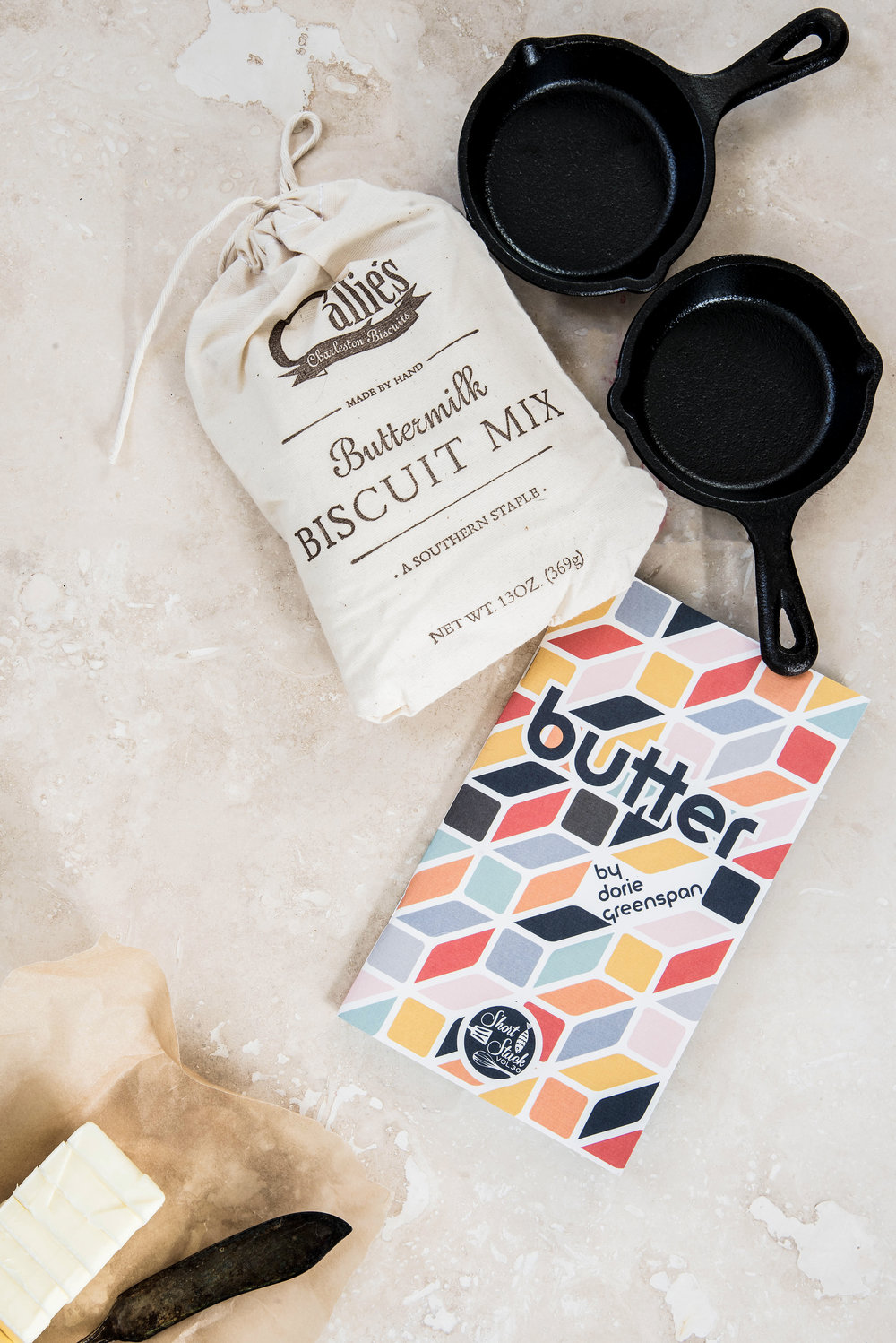ROSE & IVY Journal Celebrate the Season The ROSE & IVY Gift Guide For the Global Foodie Callie's Biscuits and Dori Greenspan Short Stack Butter