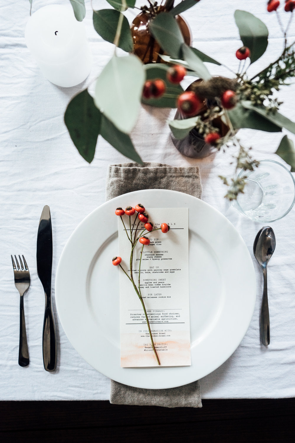 ROSE & IVY Journal Festive Plates to Create a Magical Holiday Table Setting