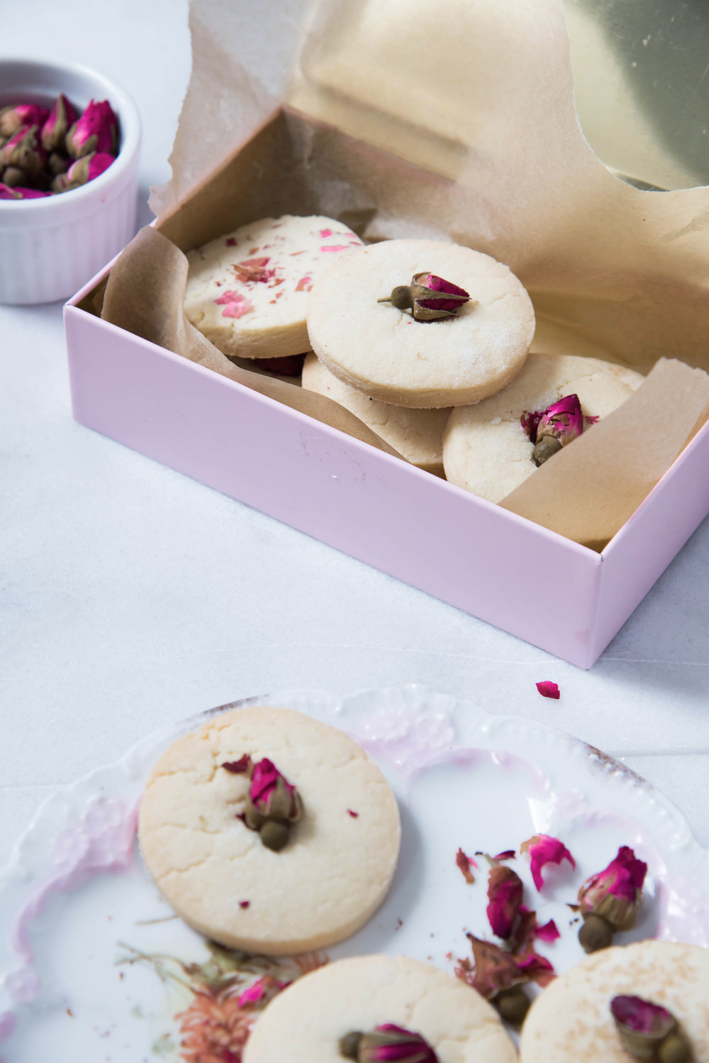 ROSE & IVY Journal Rose Sugar Cookies