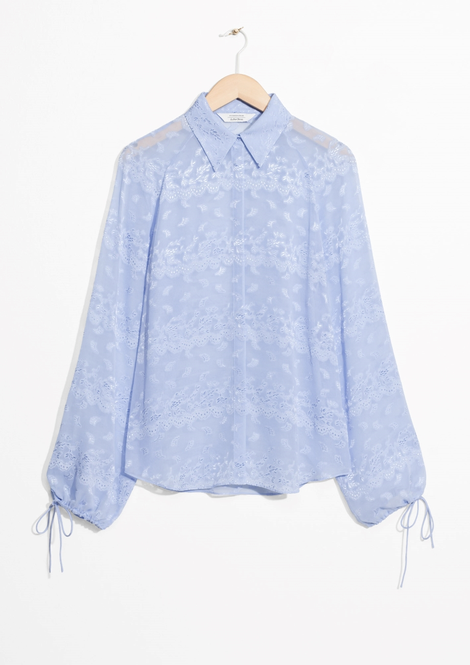 ROSE & IVY Journal The Find An Airy Blouse by & Other Stories