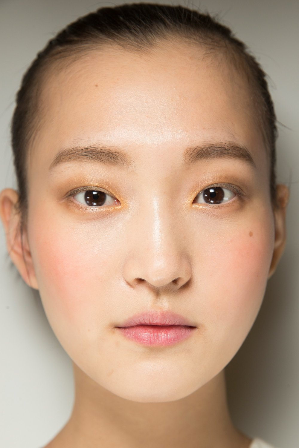 ROSE & IVY Journal eauty Flash | Flushed Cheeks at Prabal Gurung Fall 2018