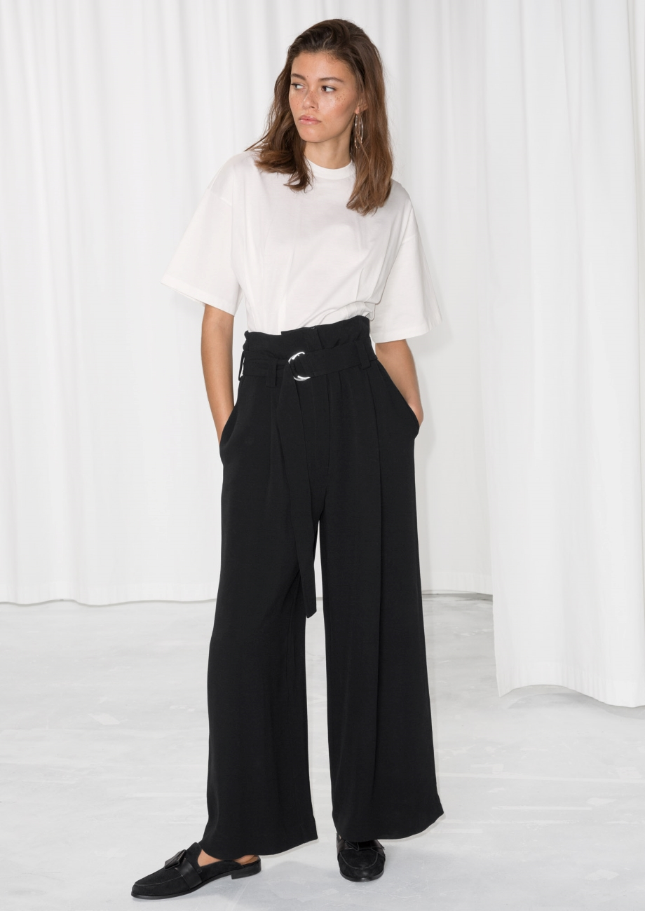 The Black Trouser Upgraded - The Find | Courtesy of & Other Stories