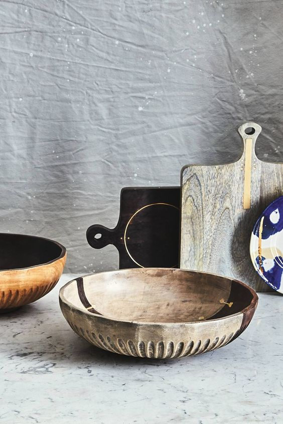 Wood Pieces for Effortless Entertaining -