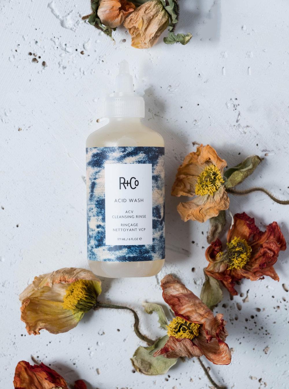 ROSE & IVY Jounal The Secret to Shiny Hair R+Co Acid Wash