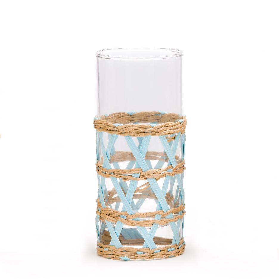 https://amandalindroth.com/collections/glassware/products/light-blue-seagrass-wrapped-cup-juice