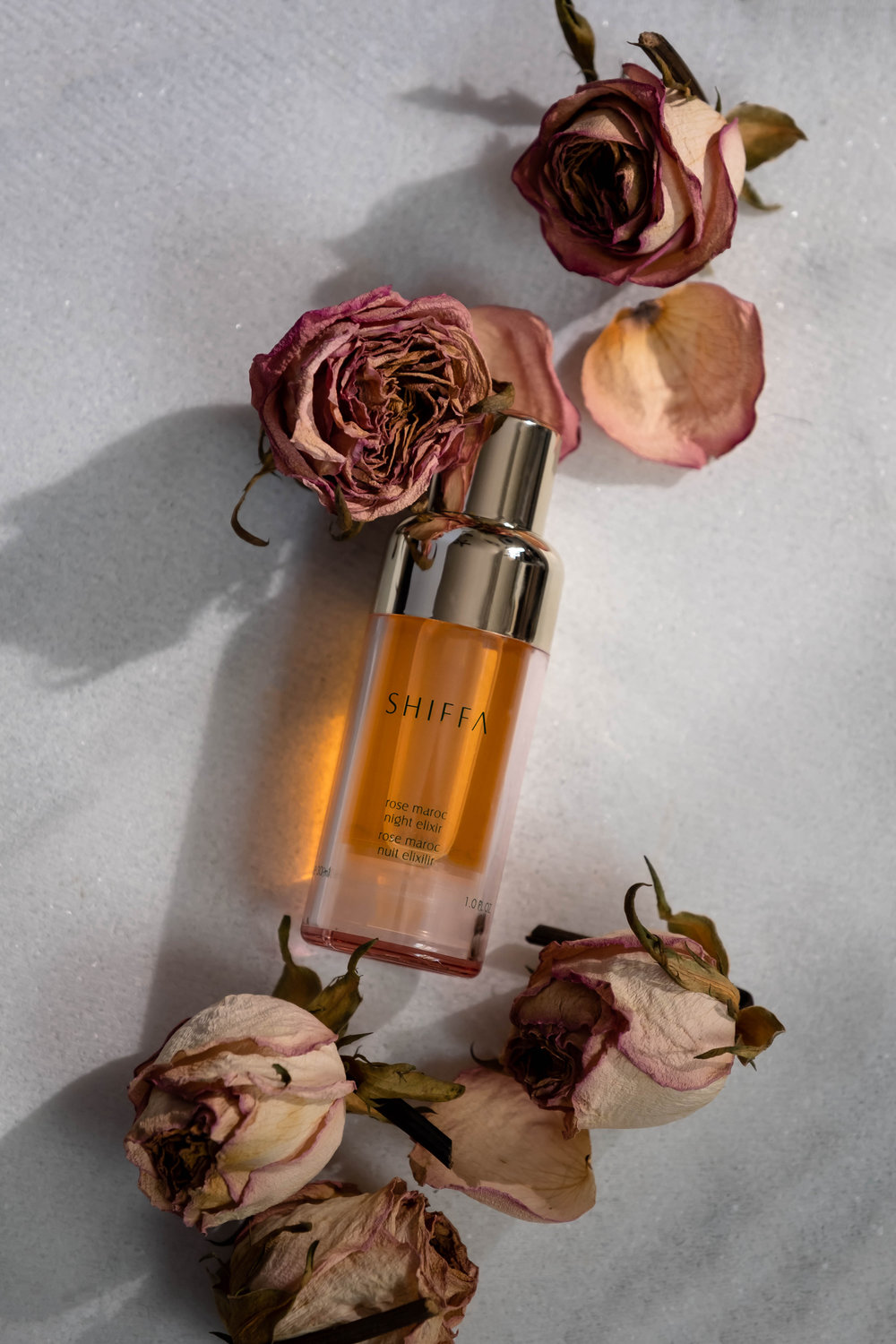 ROSE &IVY Journal A Lullabye for the Skin | Shiffa's Rose Maroc Night Elixir
