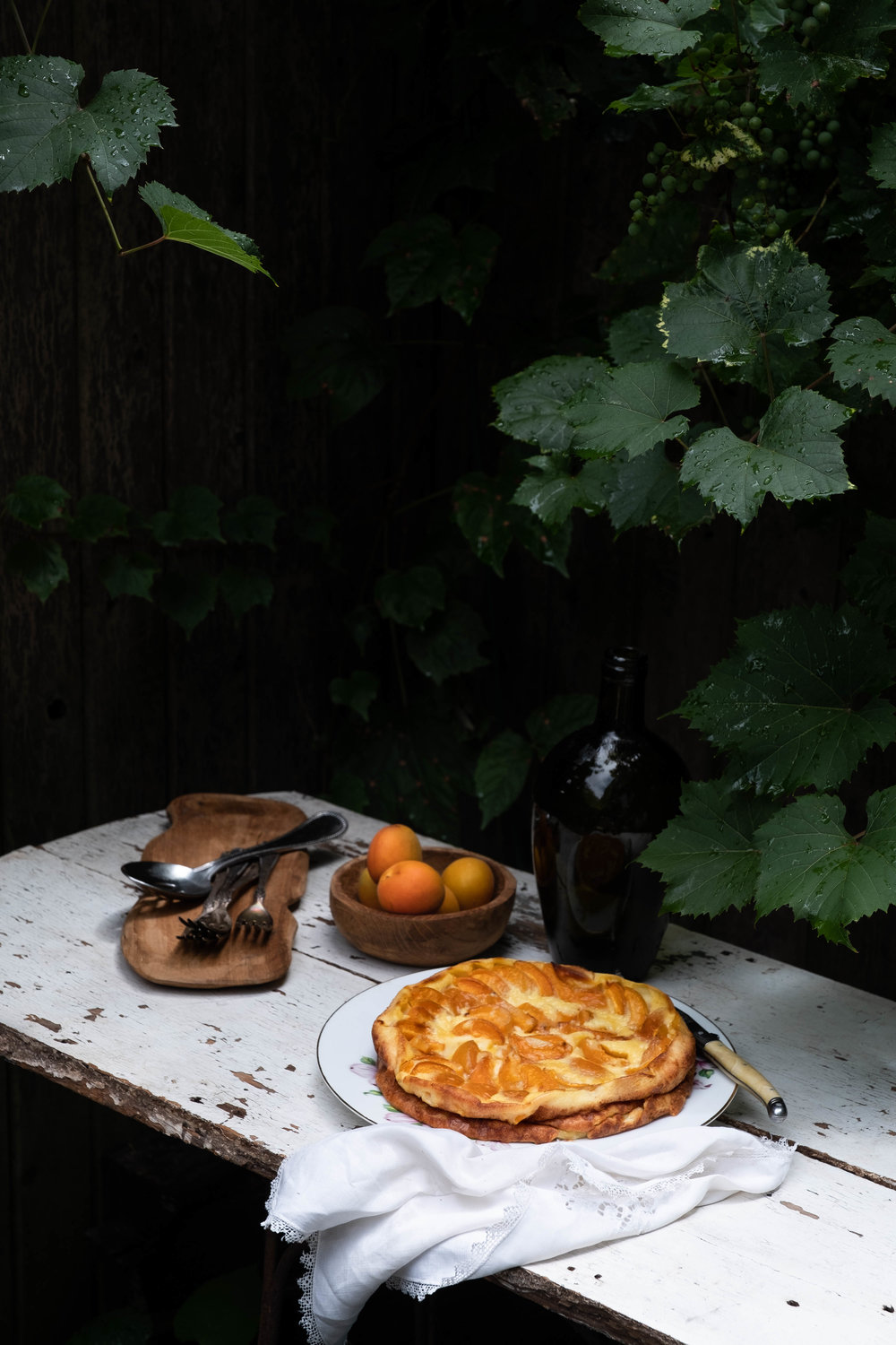 ROSE & IVY Journal At the Market | Apricots + Apricot & Almond Clafoutis