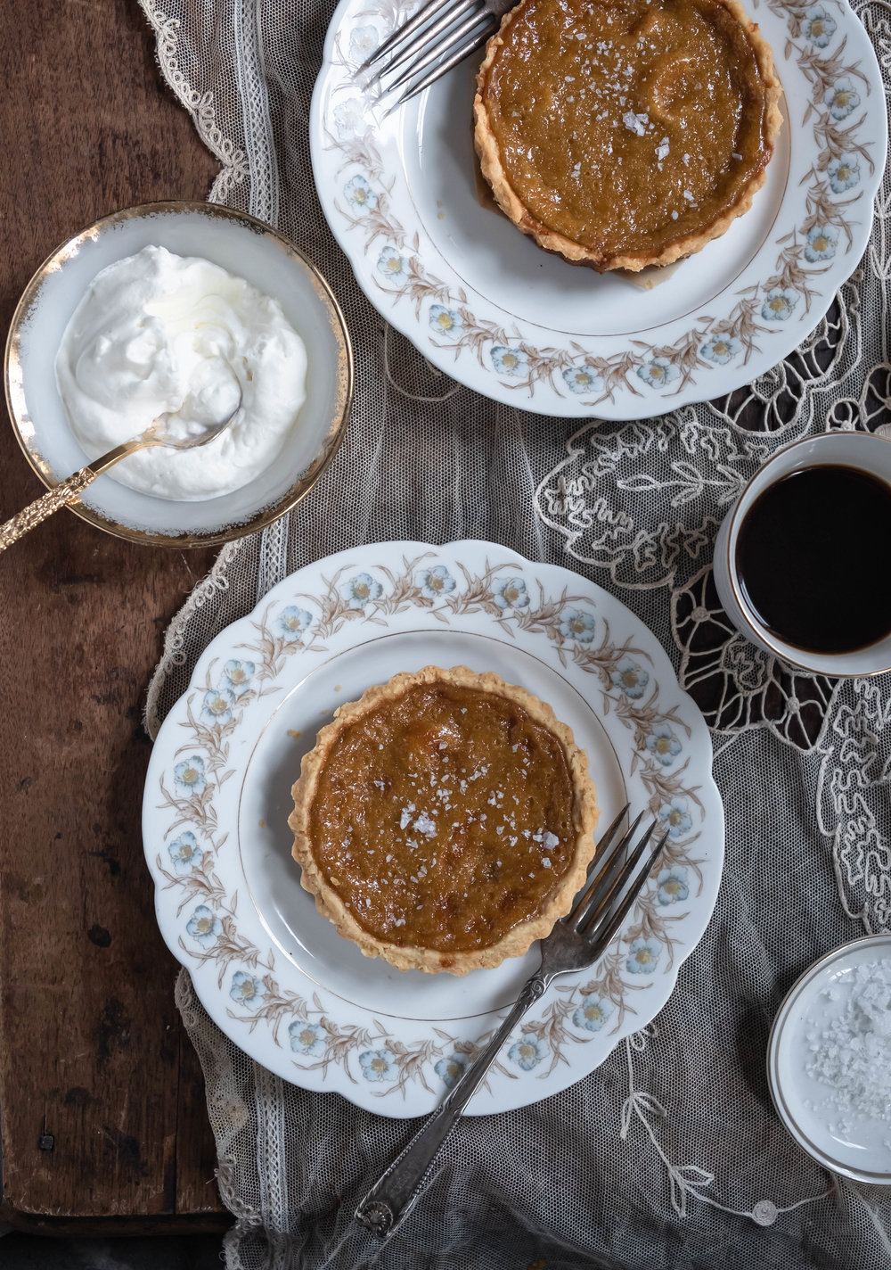 ROSE & IVY Fall Baking Essentials + Salted Maple Tart