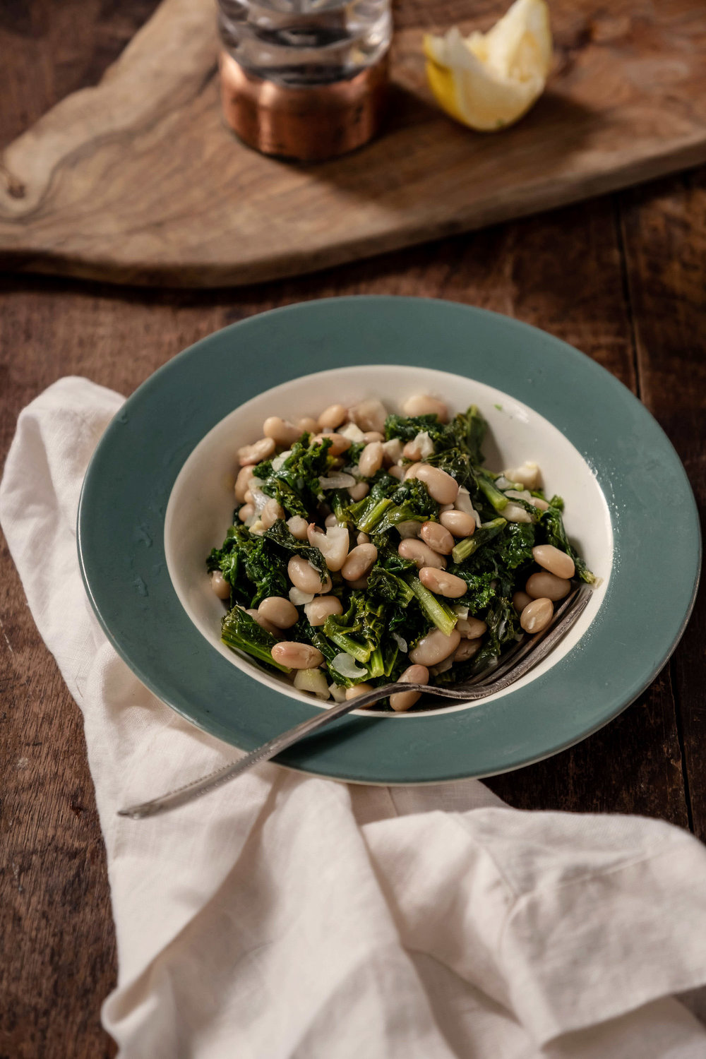 ROSE & IVY Journal Get to Know Your Greens Mustard Greens + Lemony Mustard Greens and White Beans