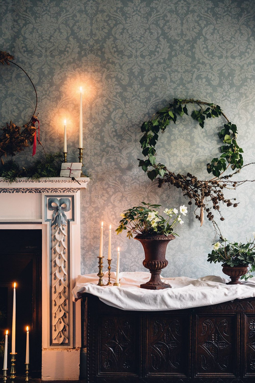 ROSE & IVY Winter Solstice Happy Holidays & Happy New Year