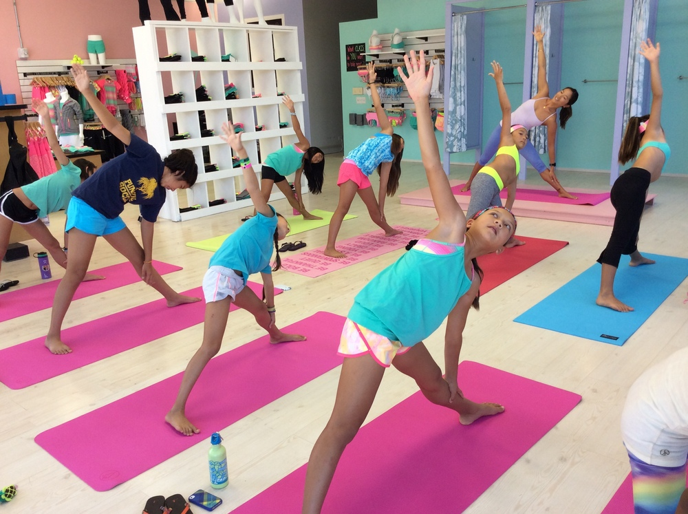 Kids Yoga at Ivivva Honolulu