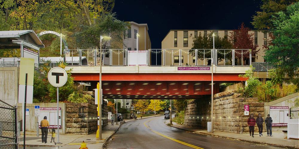 Imagining: Four Corners/Geneva Bowdoin station