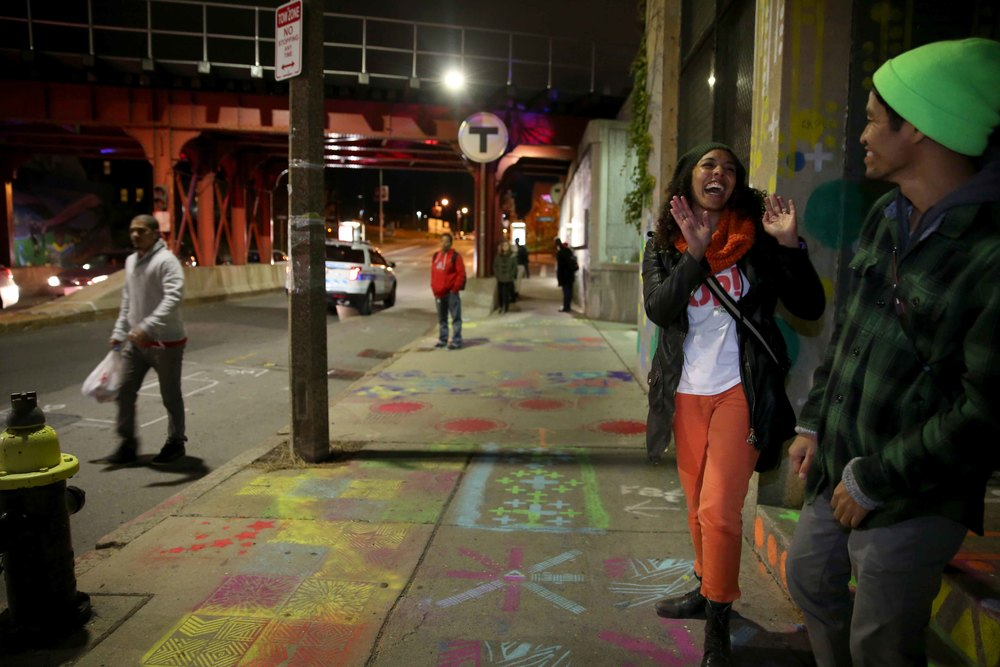 Artists Silvia Lopez Chavez and Thonah Ep celebrate & Lighting the Line u2014 ds4si