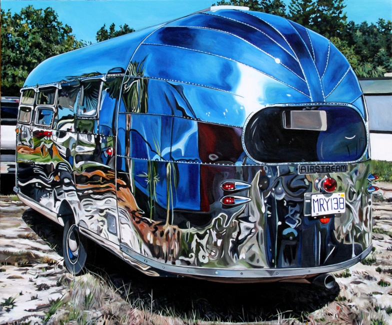 1950 Airstream Liner (2011)- 46x38 Taralee Guild low res.jpg