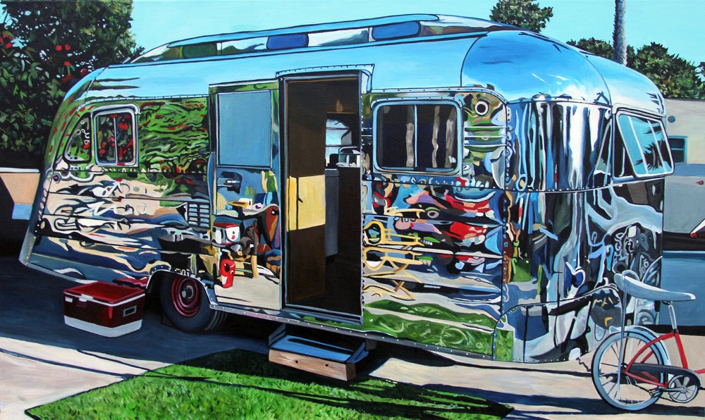 Unknown Trailer with Banana Seat (2016) 54x32 acrylic on canvas Taralee Guild (low res).JPG