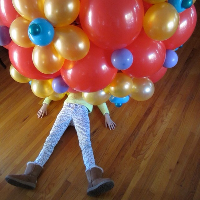 Giant balloon ball experiment fail