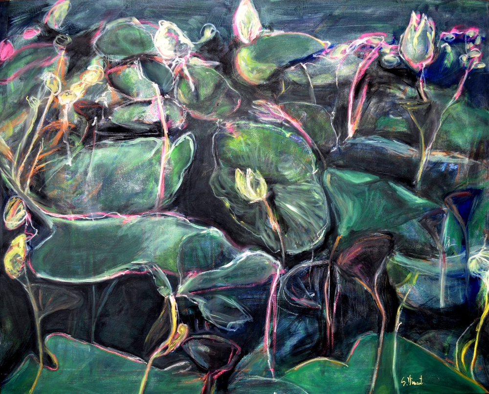 Water Lilies by Susanne Vincent