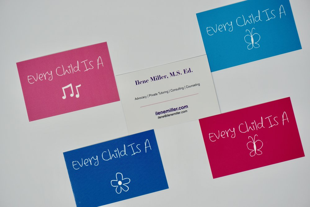 The 4 elements of the perfect business card 10 carat creations ilene miller business cardsg colourmoves