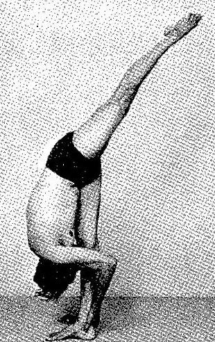 urdhva prasarita ekapadasana standing splits pose — jack