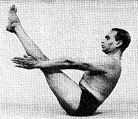 Paripurna Navasana Iyengar