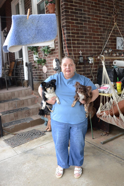Debbie & Her Dogs
