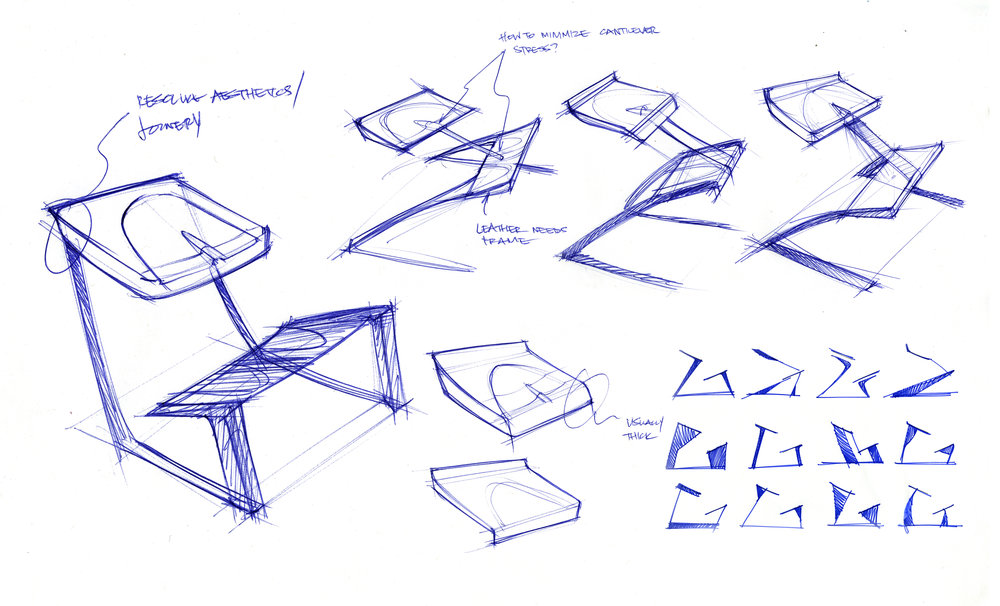 Kneeling Chair Iterations