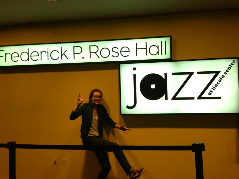 Moriah Trenk at Lincoln Center, Circa 2013