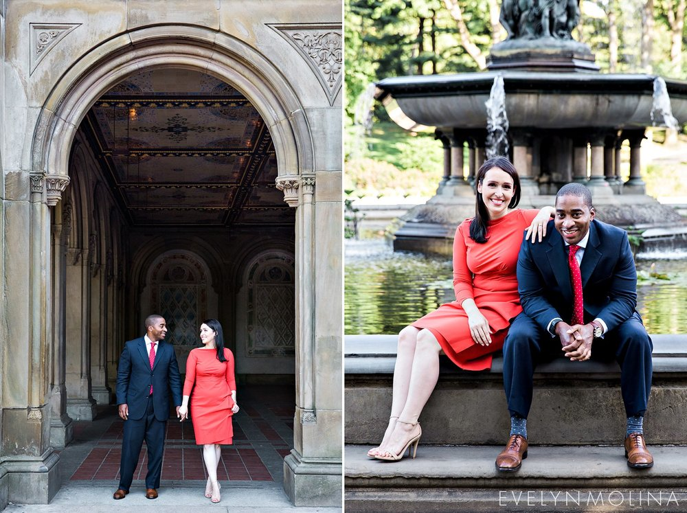 What to Wear: Engagement Session | Central Park Engagement