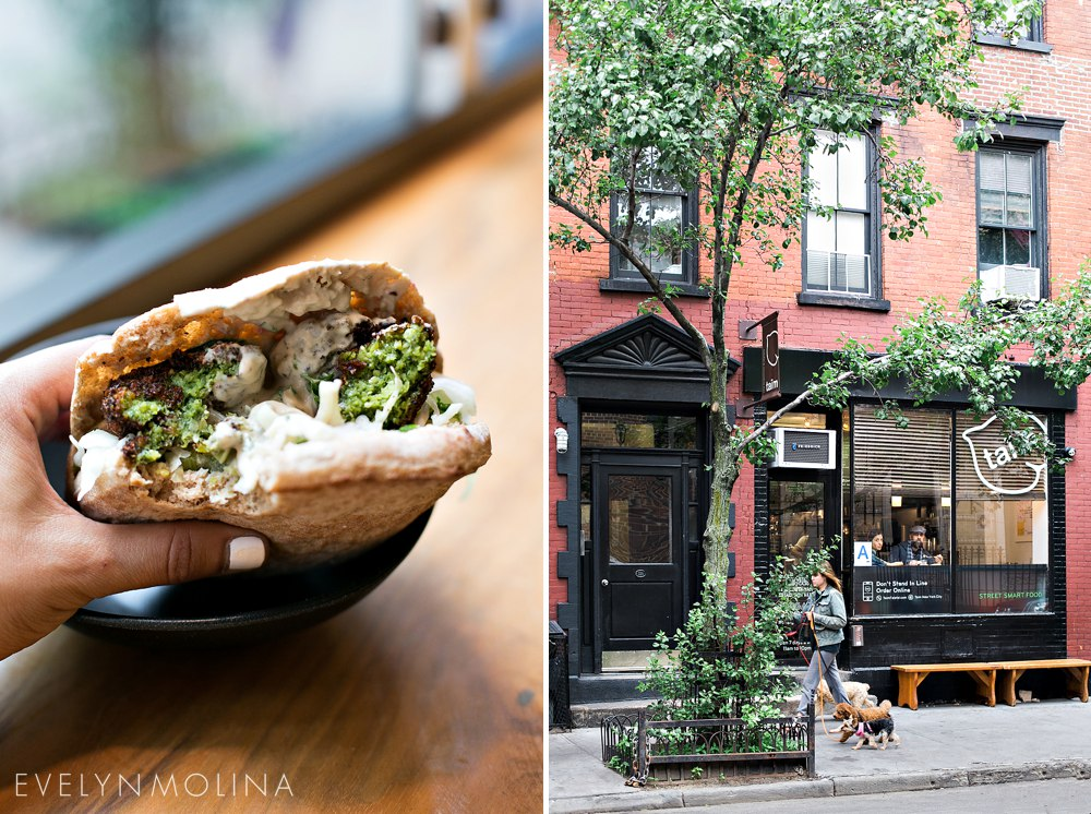 Taim Falafel New York City