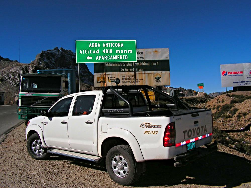 Renta coches Huaraz