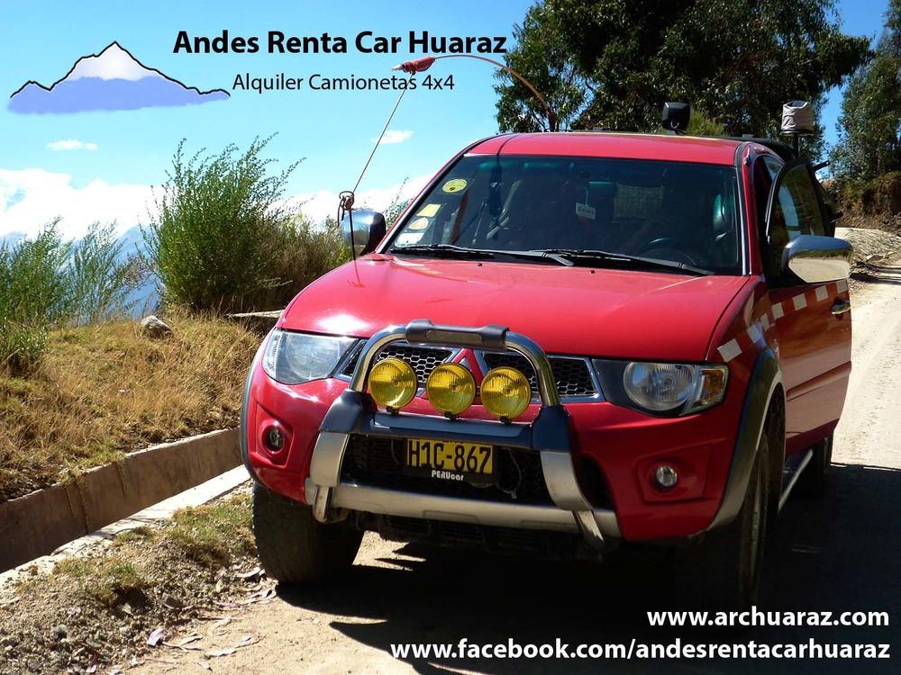 Alquilar autos Huaraz