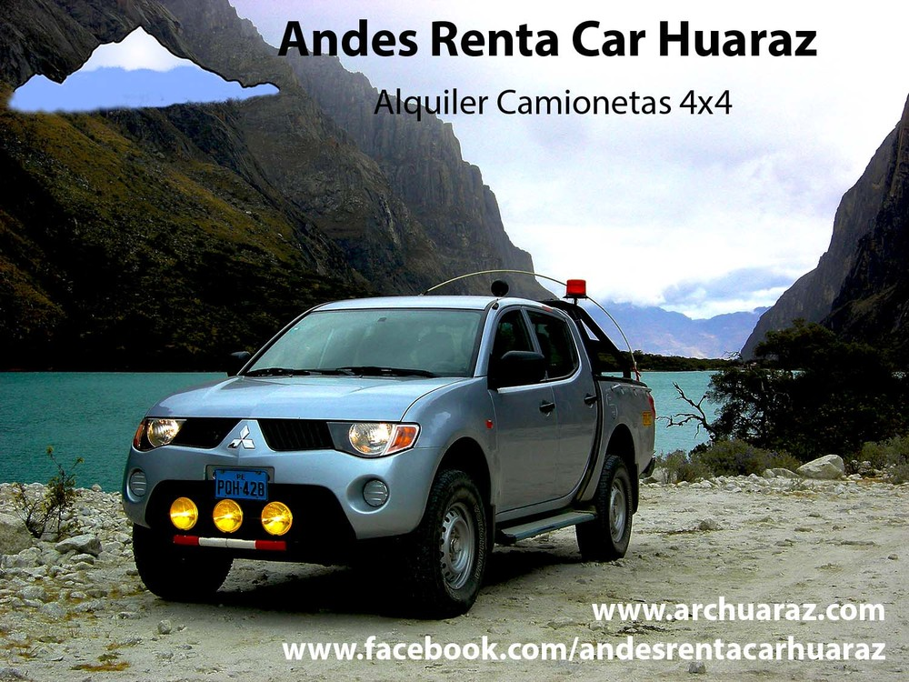 Alquilar pick-up Huaraz