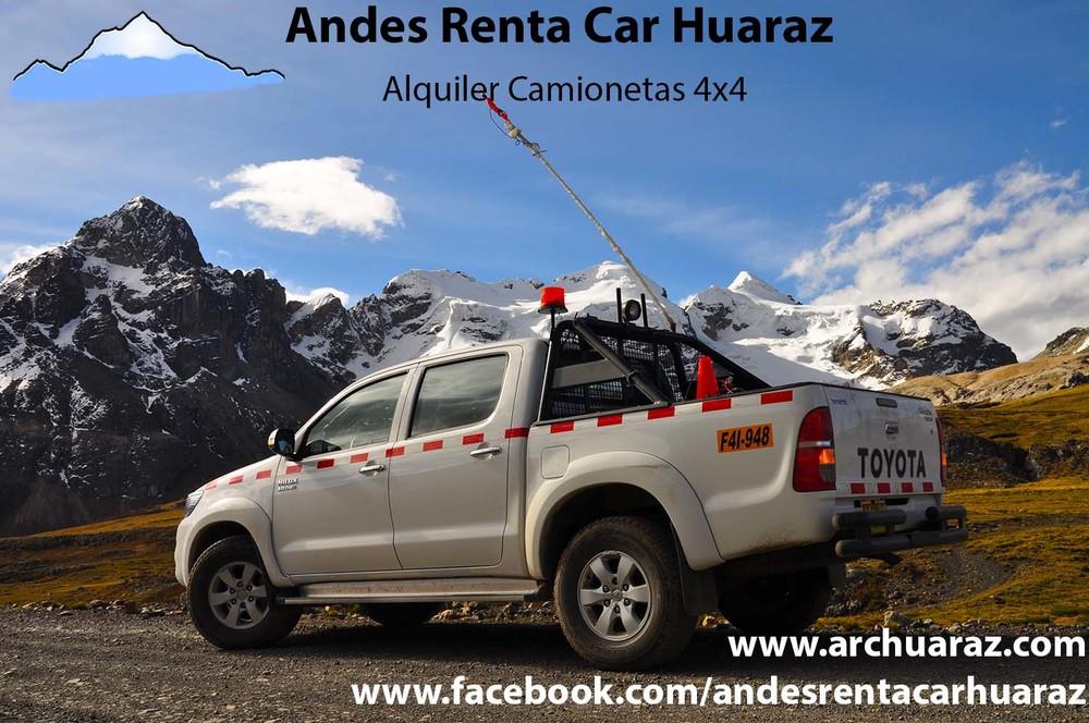 Renta autos Huaraz