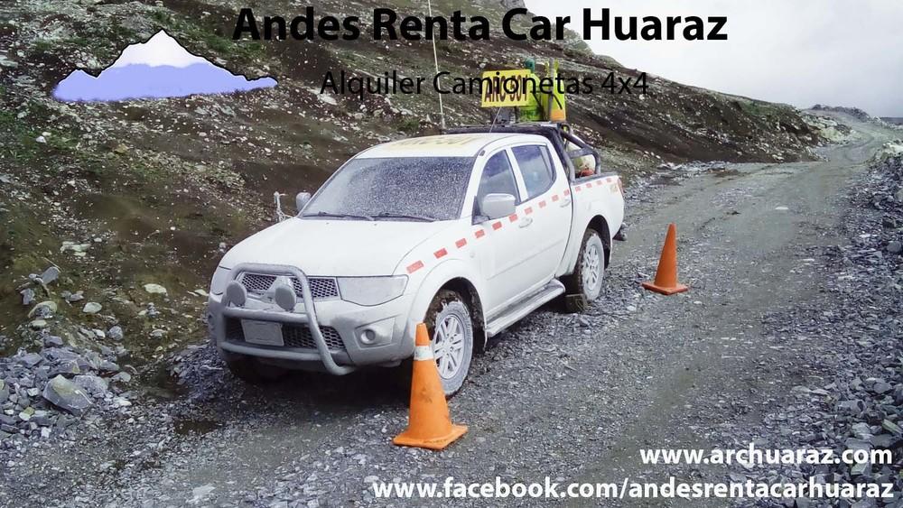 Alquilar camioneta RNP Huaraz