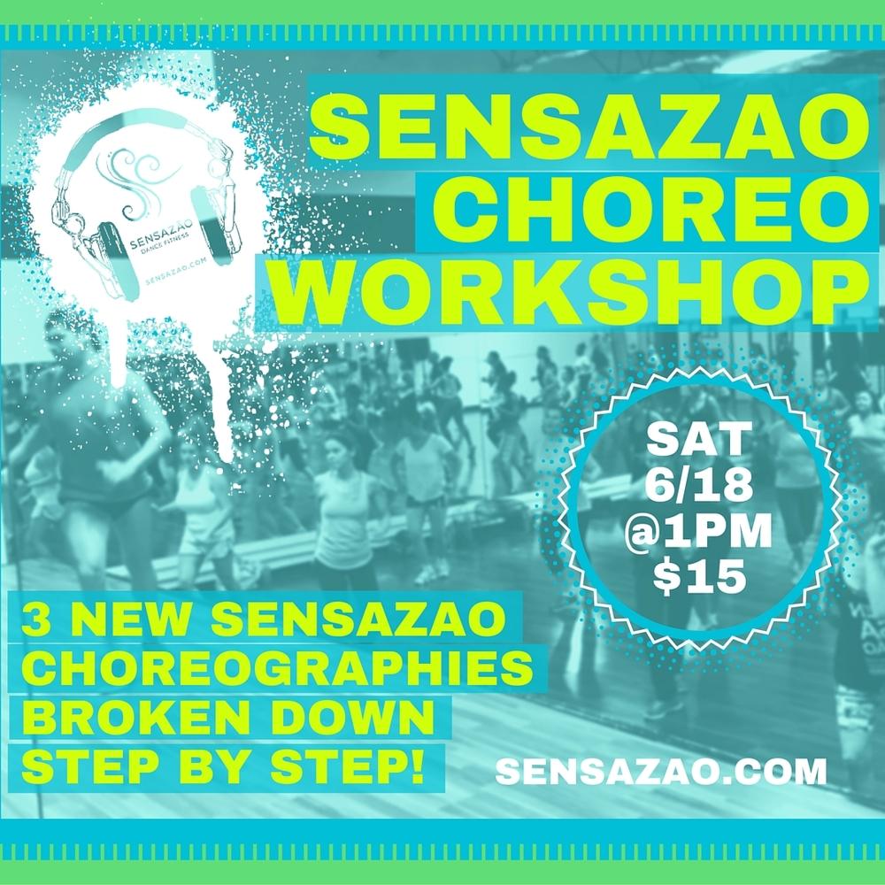 #choreoshop sensazao june'16