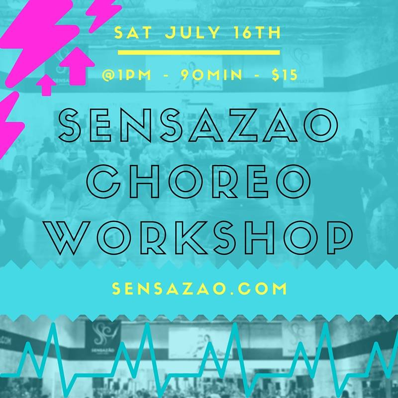 July Choreo Workshop