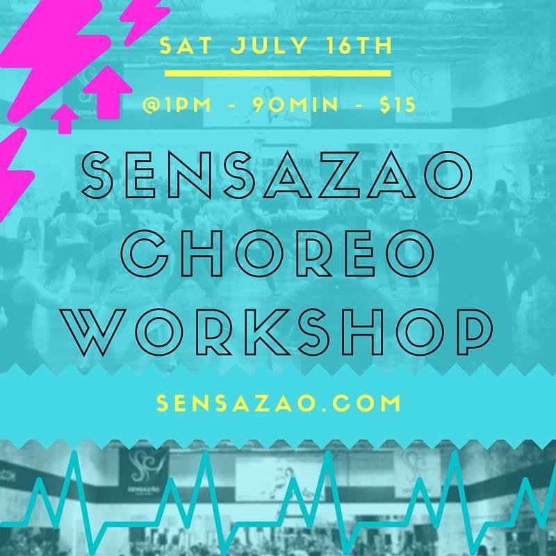 July Choreo Workshop