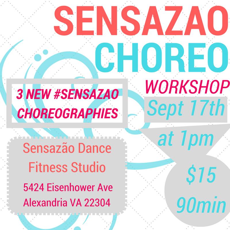 September Sensazao Choreoshop