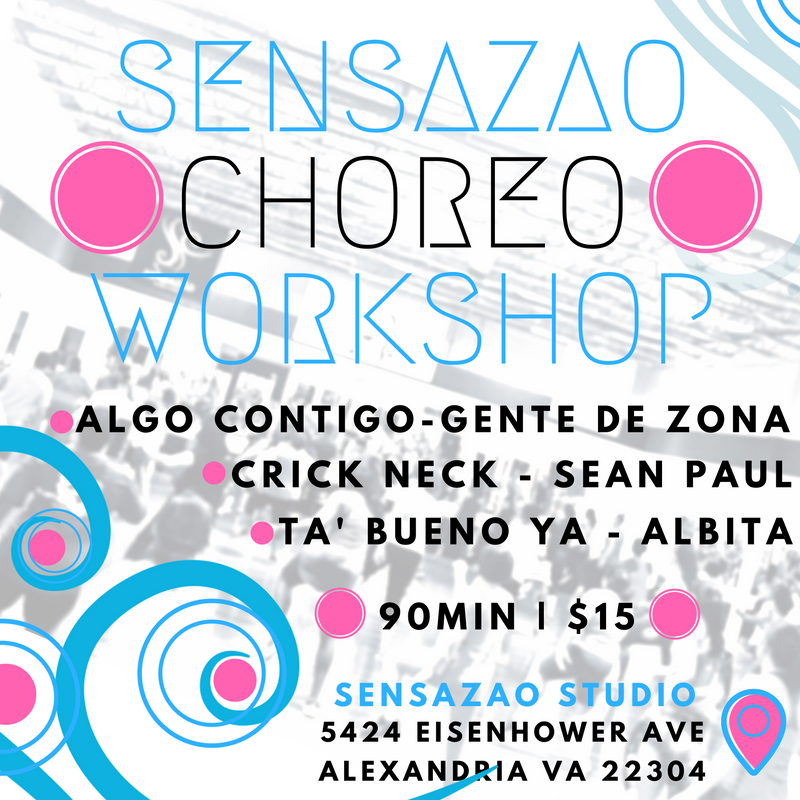october sensazao choreoshop