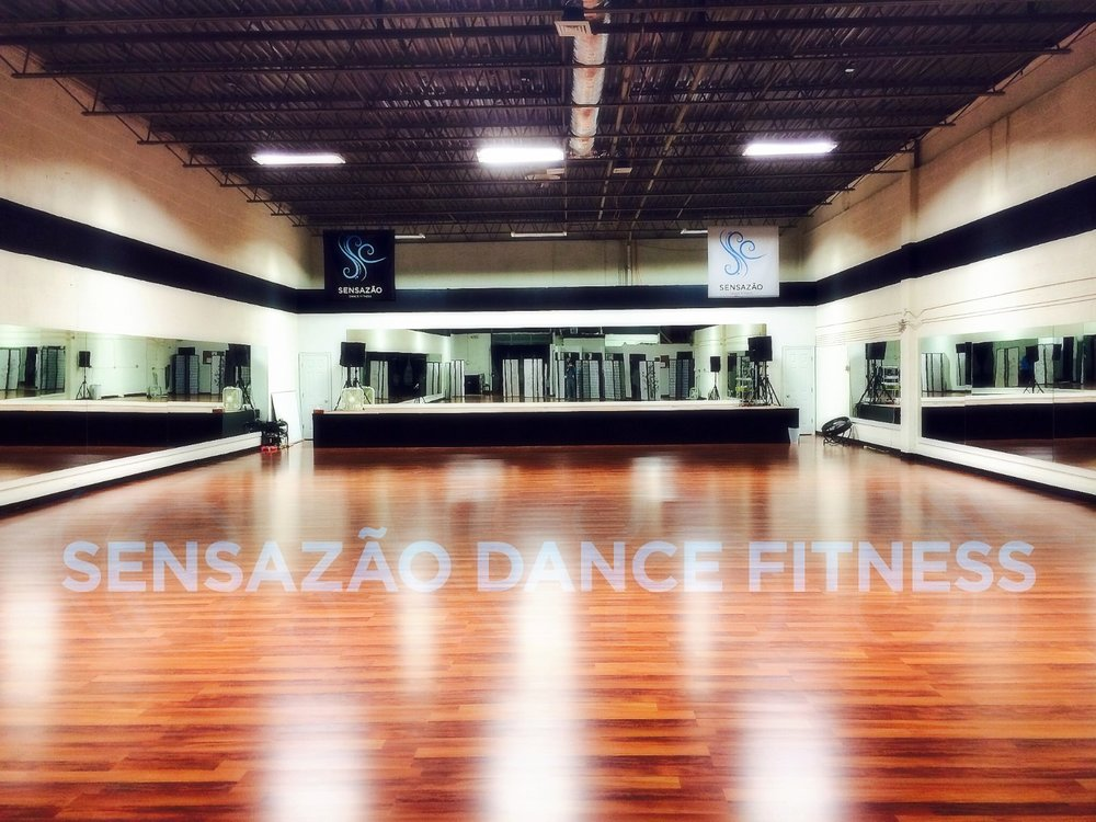 Sensazão Dance Fitness Studio - We'd love to host your upcoming workshop, dance rehearsal, special event, you name it!Approximately 4000 sqft, our studio can host up to 50 guests.  We have restrooms and dressing rooms.Please fill out the form below for more information.