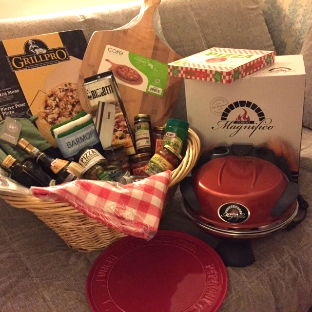 "Junior ""Pizza Party"" Basket... so much more than what you see in this photo!  A deal at $220."