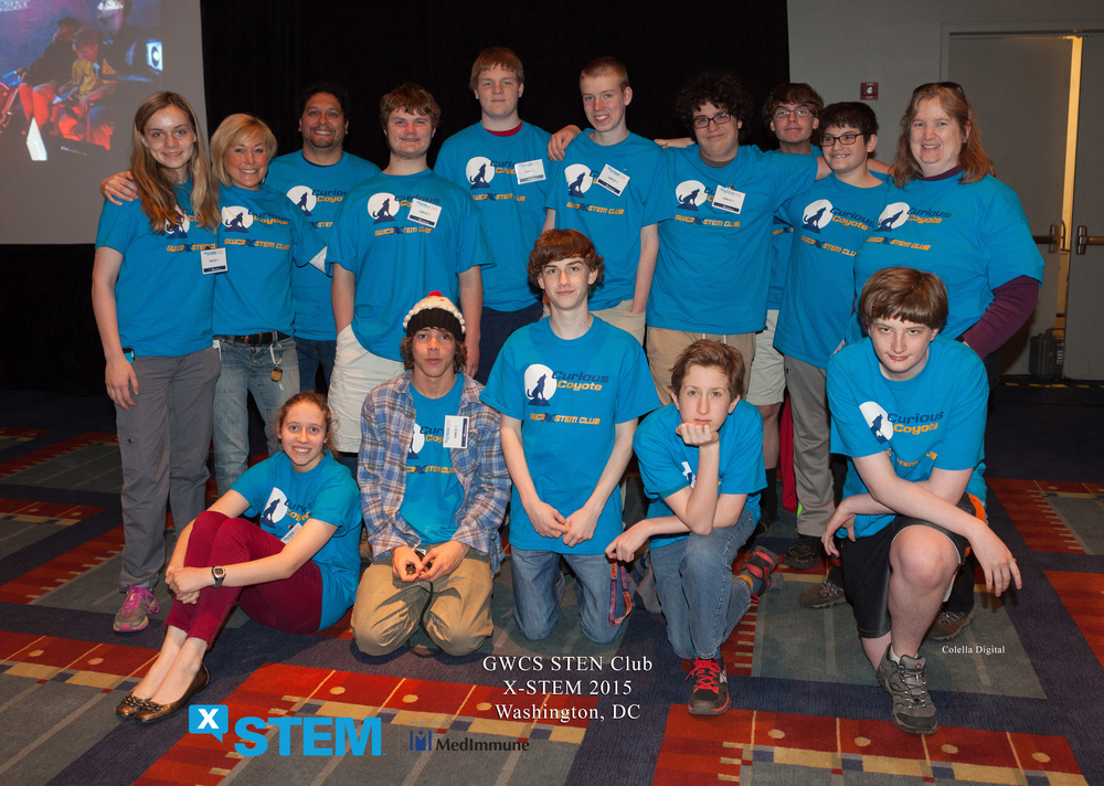 GWCS X-STEM Club at the X-STEM Symposium in D.C.