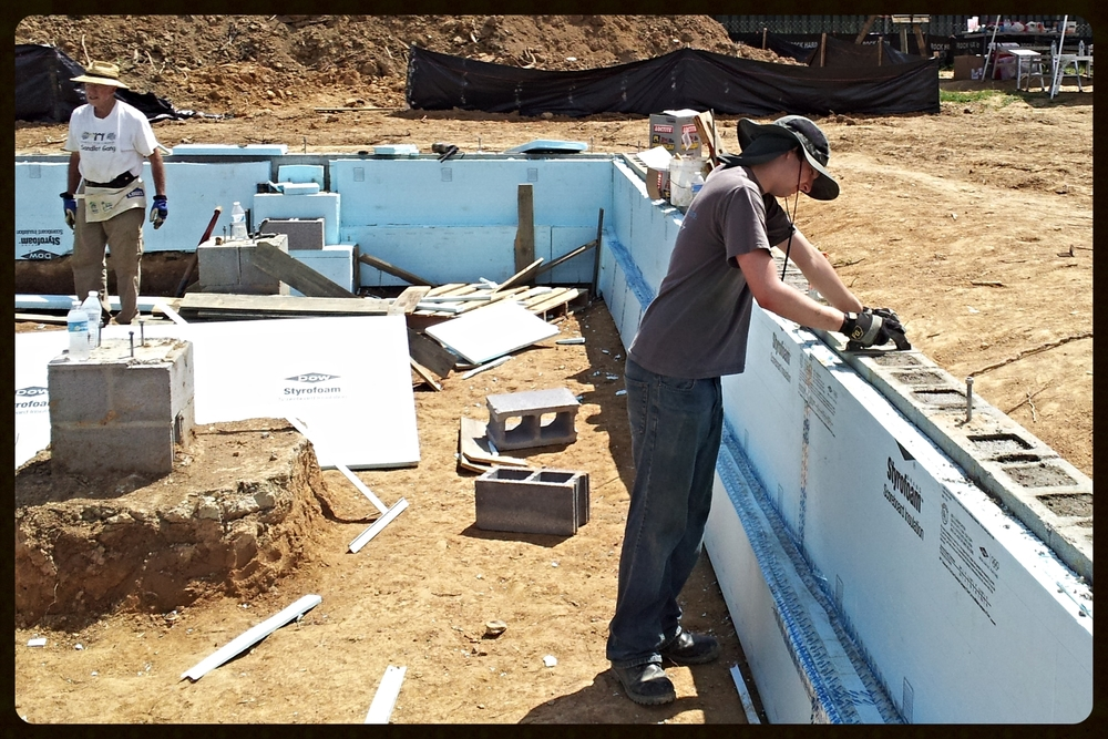 Bobby has his internship at Habitat for Humanity on Fridays and now volunteers there on Saturdays!  Way to go Bobby!