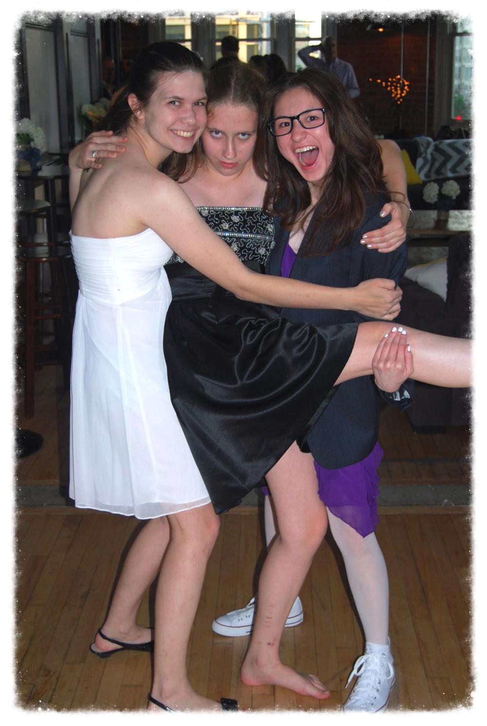 Emily, Emily & Loea - 2014 GWCSProm