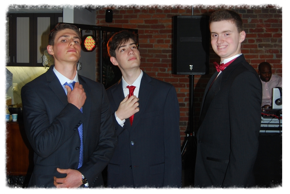 Sergio, Max and Richie - 2014 GWCS Prom